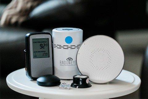 Calidad de Ambientes interiores Radon